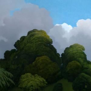 Clearing Sky, Kew Gardens